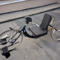Top End Excelerator XLT Handcycle with Mountain Drive